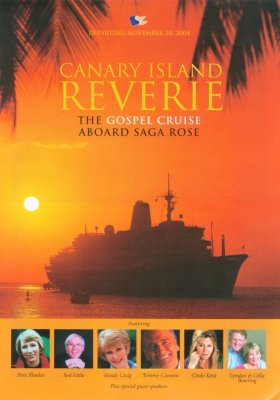 Gospel Cruise brochure