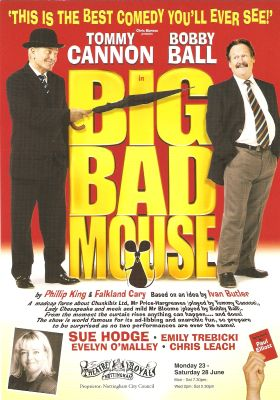 Big Bad Mouse flyer