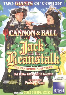 2009 Panto flyer front