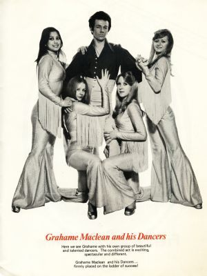 Graham Maclean and his dancers