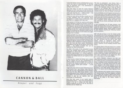 Programme Cannon and Ball