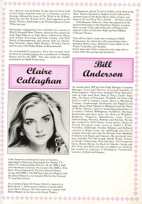 Claire Callaghan and Bill Anderson