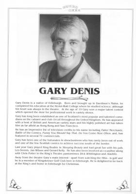 Gary Denis writeup
