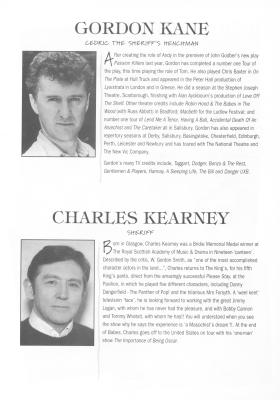 Gordon Kane and Charles Kearney pictures and writeup