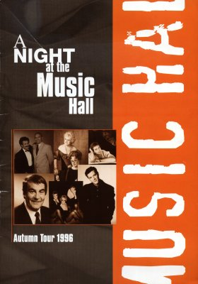 A Night at the Music Hall brochure