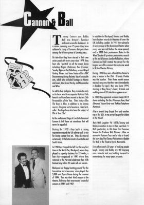 Cannon and Ball biography