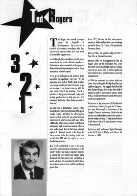 Ted Rogers biography