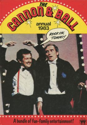 'Cannon and Ball Annual 1983' cover