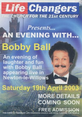 An Evening with Bobby Ball flyer