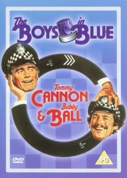 DVD cover from 'The Boys in Blue'