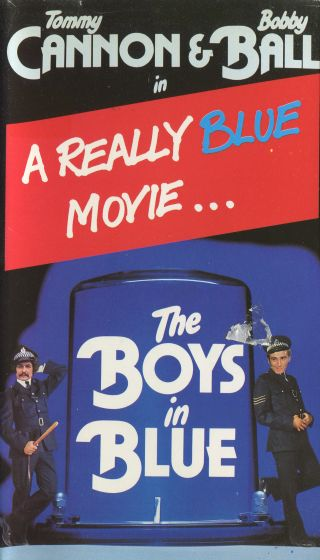 Boys in Blue VHS cover