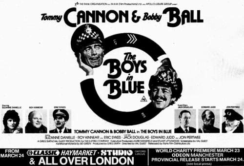 The Boys in Blue advert