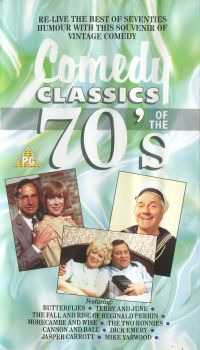 'Comedy Classics of the 70s' cover