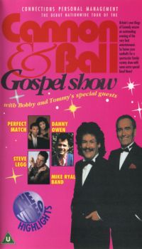 'Cannon and Ball Gospel Show' cover