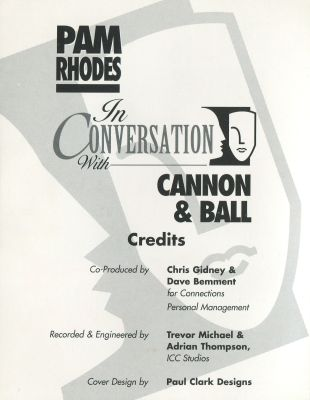 Pam Rhodes in Conversation with Cannon and Ball back inside