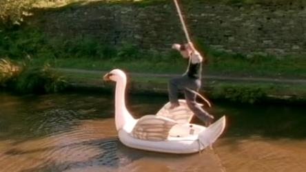 Swan Man of Ilkley TV Picture