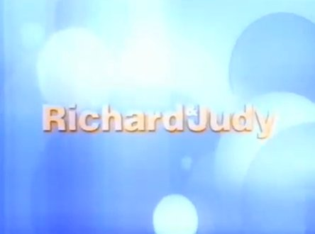 Richard and Judy screenshot