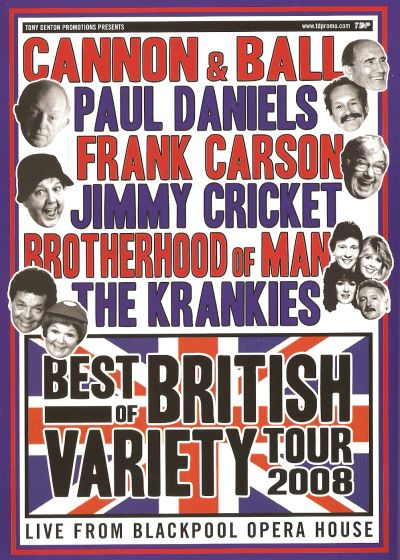 Best of British Variety DVD cover