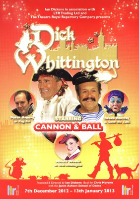 Panto flyer front